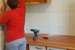 montaj bucatarie
