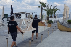 mutare pe plaja
